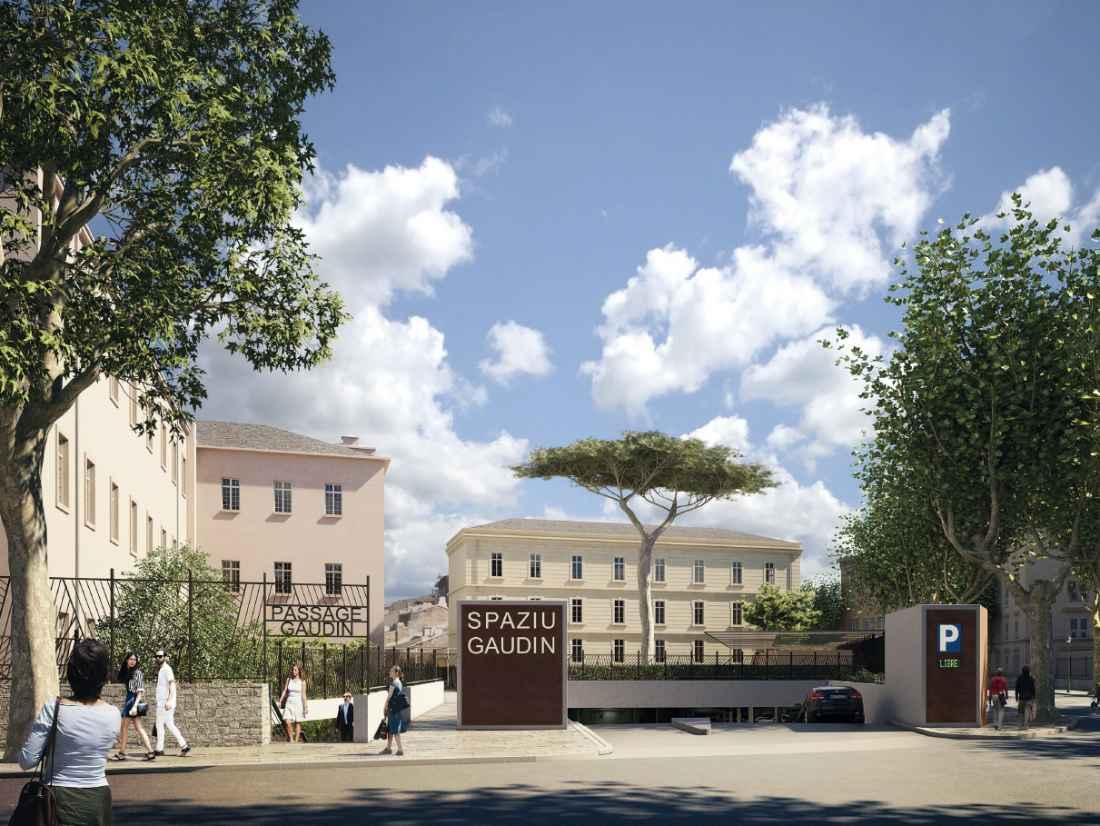PARC DE STATIONNEMENT GAUDIN